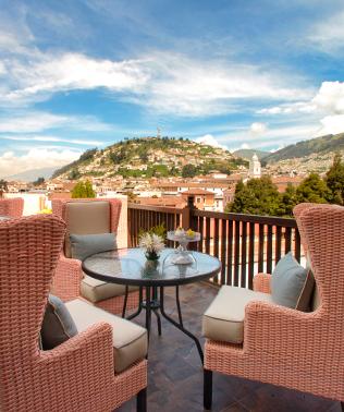 Illa Experience Hotel | Quito luxury hotel | Ecuador | Rooftop