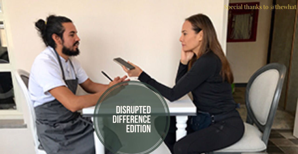 The Disrupted Difference: working in vs working for?
