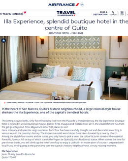 Air France | Illa Experience Hotel