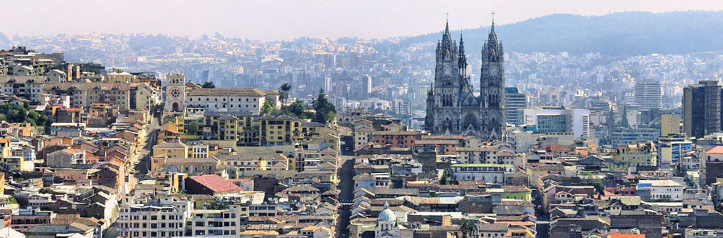 Quito Ecuador   Bacilica del Voto Nacional Church