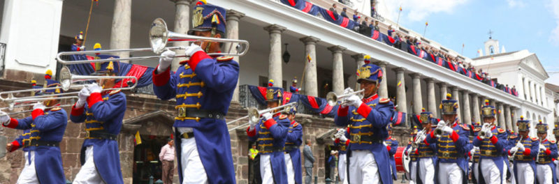 Militar Parade Quito Party