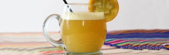 Canelazo a traditional beverage of Quito