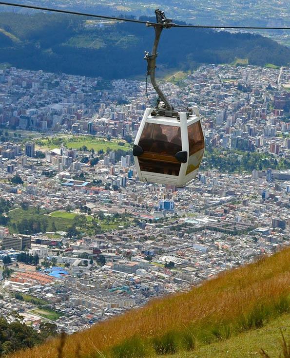 Pichincha Volcano Quito | Cablecar