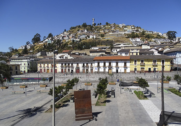 Quito colonial houses | 24 de Mayo Boulevat