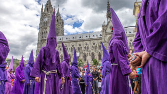 Holy Week in Ecuador – The Week that gathers Culture, History and Faith